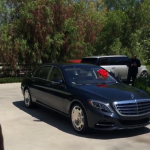 The landlord's lawyer said Tyga knew the implications of the case when he bought his girlfriend a Mercedes-Maybach for her birthday. (Photo: Instagram, @kyliejenner)