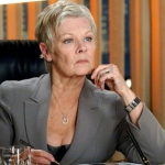 M, played by Judi Dench in GoldenEye. (Photo: Archive)