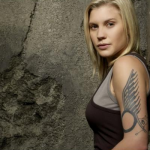 Starbuck, played by Katee Sackhoff on Battlestar Galactica. (Photo: Archive)
