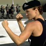 Dizzy Flores, played by Dina Meyer in Starship Troopers. (Photo: Archive)