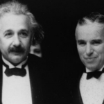 Charlie Chaplin and Albert Einstein. (Photo: Archive)