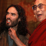 Russell Brand and The Dalai Lama. (Photo: Archive)