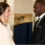 Kate Middleton and Idris Elba. (Photo: Archive)