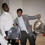 Kanye West and Aziz Ansari. (Photo: Archive)