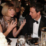 Anna Wintour and Seth Meyers. (Photo: Archive)