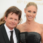 Michael J. Fox and Tracy Pollard, 28 years. (Photo: Archive)