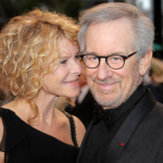 Steven Spielberg and Kate Capshaw, 25 years. (Photo: Archive)