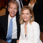 Michelle Pfeiffer and David E. Kelley, 23 years. (Photo: Archive)