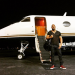 The former wrestler has raked in a massive $64.5 million in the last year. (Photo: Instagram, @therock)