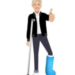 Ellen DeGeneres has launched her very own emoji app. (Photo: Instagram, @ellenshow)