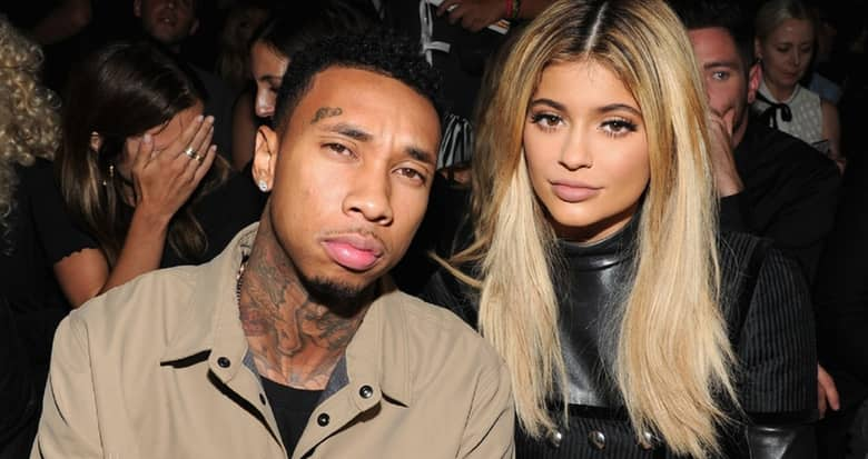 Kylie Jenner and Tyga. (Photo: Archive)