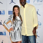 Michael Jordan and Yvette Prieto. (Photo: Archive)
