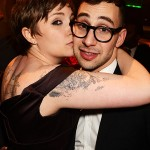 Lena Dunham and Jack Antonoff. (Photo: Archive)