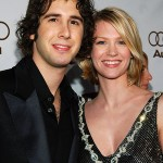 Josh Groban and January Jones. (Photo: Archive)