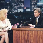 Morgan Fairchild and Jay Leno. (Photo: Archive)