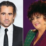 Colin Farrell and Elizabeth Taylor. (Photo: Archive)