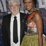 George Lucas and Mellody Hobson. (Photo: Archive)
