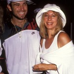 Andre Agassi and Barbra Streisand. (Photo: Archive)