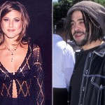 Adam Duritz and Jennifer Aniston. (Photo: Archive)