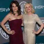 She shared the award with her BFF Tina Fey. (Photo: Instagram, @aussie.gossip)