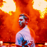 In his acceptance speech, he said that he had been through a lot in 2016. (Photo: Instagram, @calvinharris)