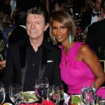 David Bowie and Iman. (Photo: Archive)