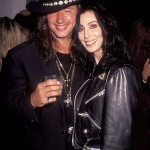 Richie Sambora and Cher (again). (Photo: Archive)