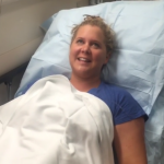 Seeing her in a hospital bed is a little worrying, though! (Photo: Instagram, @amyschumer)