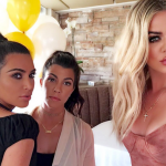 That leaves only Khloé and Kim and he did not deny it at all. (Photo: Instagram, @khloekardashian)