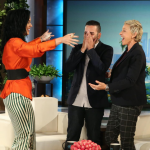 It was thrilling to see Tony meet his idol after her music helped him through a horrific ordeal. (Photo: Instagram, @theellenshow)