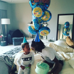 "The father of her child is not willing to be her ""rebound"" lover, though. (Photo: Instagram, @wizkhalifa)"