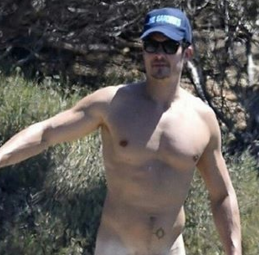 Orlando Blooms Beautiful Naked Cock [UNCENSORED] - Leaked Men