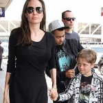 Brad is reportedly desperate to see his kids, but Angelina won't give him access. (Photo: Instagram, @brangelinanews)