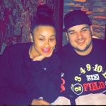 Blac Chyna is of course engaged to be married to Rob Kardashian. (Photo: Instagram, @blacchyna)