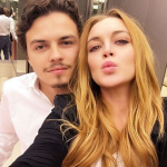In interviews that followed, she claimed Egor assaulted her numerous times. (Photo: Instagram, @lindsaylohan)