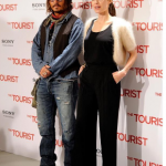 Johnny Depp starred alongside Angelina Jolie in The Tourist in 2010. (Photo: Instagram, @babadissimos)