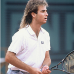 Andre Agassi. (Photo: Archive)