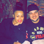 Rob Kardashian has deleted all of his Instagram pictures. (Photo: Instagram, @blacchyna)