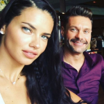 Ryan Seacrest and Adriana Lima are dating! (Photo: Instagram, @quemacontece)