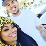 He also left the meal planning to her, but what happened to that? (Photo: Instagram, @blacchyna)