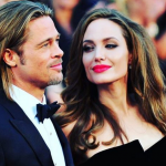 The brunette beauty reportedly surprised Pitt with divorce papers on Monday. (Photo: Instagram, @speakcinema)