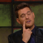 Bublé married the Argentinian model in 2011. (Screengrab: The Late Late Show)