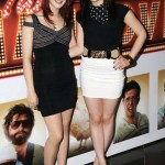 Megan and Kathryn Prescott. (Photo: Archive)