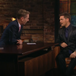 Michael Bublé has revealed that he only became a singer for the sex. (Screengrab: The Late Late Show)