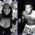 Linda Lovelace and George Foreman - January 10, 1949. (Photo: Archive)