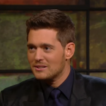 The Canadian crooner revealed that he entered the music industry to attract ladies. (Screengrab: The Late Late Show)