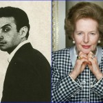 Lenny Bruce and Margaret Thatcher - October 13, 1925. (Photo: Archive)