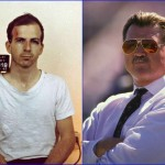 Lee Harvey Oswald & Mike Ditka - October 18, 1939. (Photo: Archive)