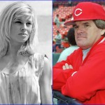 Julie Christie and Pete Rose - April 14, 1941. (Photo: Archive)
