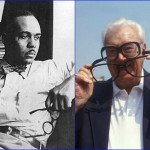 Ralph Ellison and Harry Caray - March 1, 1914. (Photo: Archive)